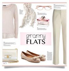 """Cute Trend: Granny Flats"" by kiki-bi ❤ liked on Polyvore featuring Stella & Dot, Mint Velvet, Bobbi Brown Cosmetics, Salvatore Ferragamo, women's clothing, women's fashion, women, female, woman and misses"