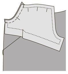 Как сшить платье с ажурным вырезом горловины