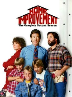 Old TV Show Home Improvement. This was my dad's favorite show and we would stop everything we were doing to watch it. Childhood Tv Shows, My Childhood Memories, Serie Tv Francaise, Mejores Series Tv, Home Improvement Tv Show, Old Shows, Great Tv Shows, Vintage Tv, 90s Kids