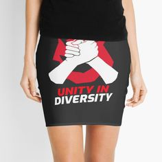 Unity In Diversity, Cheer Skirts, Chiffon Tops, Classic T Shirts, Mini Skirts, Art Prints, Printed, Unique, Awesome