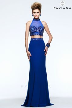 We have this gown in stock in the blue color It is an awesome gown Prom 83e8051ec5bf