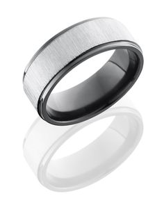 Black Zirconium Ring! Cool!