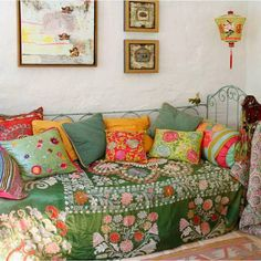 Gypsy Style With Suzani Accents decor, bedding, gypsy