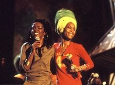 Lauryn Hill and Erykah Badu
