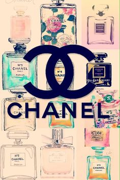 Cute Chanel Vintage Perfume Wallpaper | We Heart It