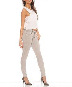 Rubberband Stretch Women's Skinny Jeans (Sarina/Light Gre... https://www.amazon.com/dp/B01DOKFSDG/ref=cm_sw_r_pi_dp_PtPDxb7CJE1D9