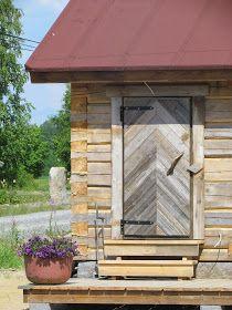 Sauna Room, Saunas, Log Homes, Firewood, Countryside, Woodworking, Outdoor Decor, Cabin Ideas, House
