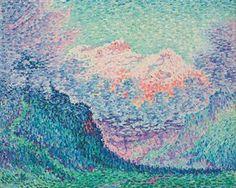 Paul Signac (1863-1935) Les Diablerets (L'Oldenhorn et le Bécabesson)  Price realised  GBP 825,250 USD 1,224,671