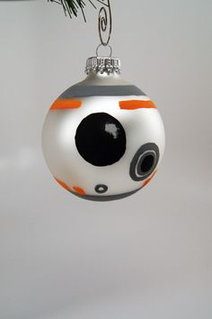 Star Wars BB-8 Christmas Ornament by RinMarksArt on Etsy