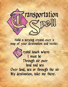Teleportation Spell Witchcraft Spells For Beginners, Healing Spells, Magick Spells, Halloween Spell Book, Halloween Spells, Fete Halloween, Charmed Spells, Charmed Book Of Shadows, Book Of Shadows