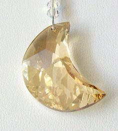 Swarovski Crystal MOON AND STARS Suncatcher/ Prism/Ornament - eBay 23.50   (click the pic)