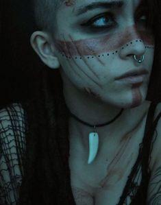 pagan, vikings, and warrior image Krieger Make-up, Fantasy Makeup, Fantasy Art, Viking Makeup, Vikings, Warrior Makeup, Tribal Makeup, Tribal Warrior, Viking Warrior Woman