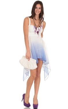 Dip Dye Hi Lo Dress