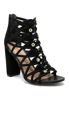 7fbab29c6a6d12 Shop for Sam Edelman Yeager Heel in Black at REVOLVE. Free 2-3 day