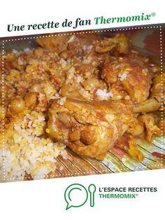 Tajine de poulet à la marocaine par rozanne. Une recette de fan à retrouver dans la catégorie Plat principal - divers sur www.espace-recettes.fr, de Thermomix®.
