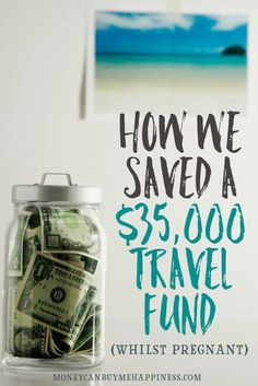 We managed to save money for a travel fund whilst pregnant with our first child. It wasn't easy, but by following these tips we were able to travel the world with our baby for the first year of his life.