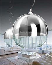 Azzardo Silver Ball 18cm LP5034-S - 0