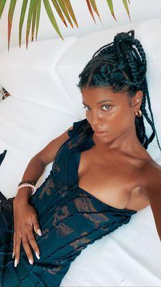 Black Girl Magic, Black Girls, Pretty People, Beautiful People, Goddess Braids, Black Girl Aesthetic, Girls Braids, My Black Is Beautiful, Brown Girl