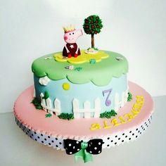 Tarta Peppa Pig #Nurisscupcakes