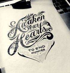 20 Amazing Examples of Typography Sketches for Your Inspiration- webdesignledger.com