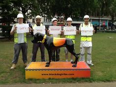 to the time when London construction workers braved the rain to share our message and support our Black Dog Campaign! Mental Health Stigma, Suffering In Silence, Construction Worker, Brave, Encouragement, Campaign, Messages, London, Dogs