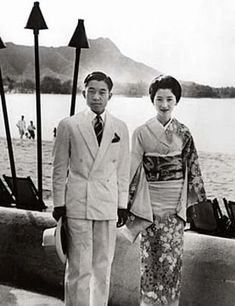 Crown Prince Akihito and Crown Princess Michiko of Japan