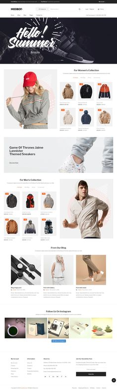 Mooboo - Fashion Theme for WooCommerce WordPress