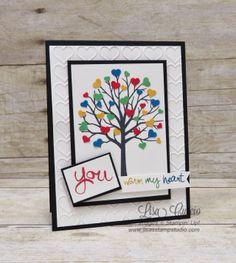 Autism Matters Blog Hop, Stampin' Up!, card, paper, craft, scrapbook, rubber stamp, hobby, how to, DIY, handmade, Live with Lisa, Lisa's Stamp Studio, Lisa Curcio, www.lisasstampstudio.com