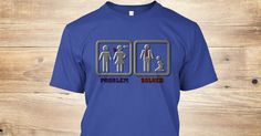Discover Problem? Solved! In Funny Bdsm Way T-Shirt from Cool Shirts, a custom product made just for you by Teespring. With world-class production and customer support, your satisfaction is guaranteed. - Problem? Solved! In funny BDSM way, fetish tee...