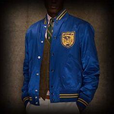 Ralph Lauren Rugby メンズ ジャケット ラルフローレンラグビー Satin Varsity Jacket ジャケット-アバクロ 通販 ショップ #ITShop