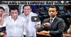 TRILLANES HINDI NA KINAYA Si DUTERTE BIGLANG LIKO NALANG KAY SEN GORDON KAKASOHAN! Advertisement  Sponsor  So what can you say about this one? Let us know your thoughts in the comment section below and don't forget to share this post to your family and friends online. And also visit our website more often for more updates.  [SOURCE]- YOUTUBE  Disclaimer: Contributed articles does not reflect the view of FRESHNEWSTODAY. This website cannot guarantee the legitimacy of some of the information…