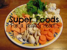 Check out these Six Super Foods for a Healthy Heart and you can be on your way to a healthy heart and lifestyle in no time. These foods are SO good for you!