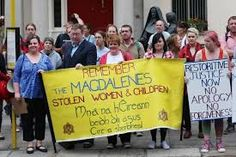 Image result for irish stitch protest banners women