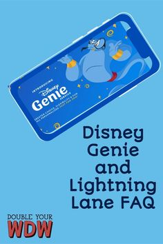 Disney Genie is confusing even for the most seasoned Disney pro. Here are all of the most commonly asked questions about this new Disney World feature. Here you'll learn what is included in Disney Genie, how the paid upgrades work, the perks for Disney Resort guests and more! Disney | Disney World | Disney planning | Disney genie | Walt Disney World | Disney vacation | Disney bound | Disney tips and tricks | Vacation | Vacation planning | Disney vacation Disney World Tickets, Disney World Florida, Disney World Parks, Disney World Planning, Walt Disney World Vacations, Disney Travel, Disney Ideas, Disney Tips, Disney Disney