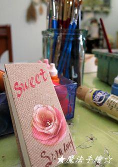 傢飾彩繪★花卉風情 - IMG_8660-1 @ Ling 的相簿 :: 痞客邦 PIXNET :: Elsa, Sweet, Projects, Pictures, Painting, Decor, Painted Roses, Picture On Wood, Soaps