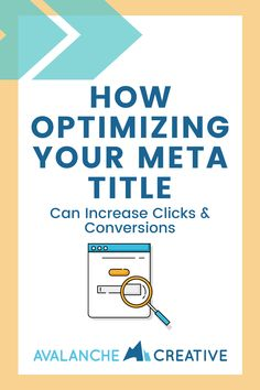 You see them every time you use a search engine. It's the first thing you read. Yet, meta titles are completely overlooked and under-utilized for increasing clicks through to your website and increasing your organic keyword rank. Here's how to use your meta title strategically. Content Marketing, Digital Marketing, Keyword Ranking, News Sites, Seo Tips, Search Engine Optimization, Online Business, Improve Yourself, How To Become