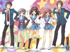 The Melancholy of Haruhi Suzumiya. Any true anime fan would know this series