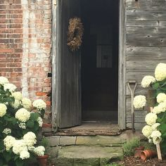 Colonial Exterior, Brick And Mortar, Finding Peace, Fixer Upper, Rustic Farmhouse, Restoration, Calm, Canning, Garden