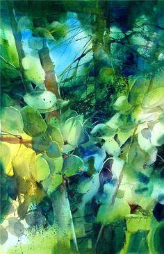 Fluttering Aspen, Judy Greenberg