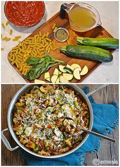 On the Menu This Week: Beefy Pasta Skillet Dinner