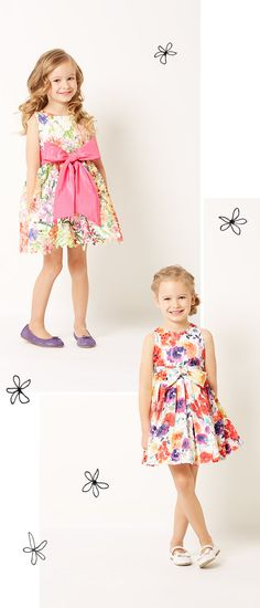 Petal Pushers: Discover blossoming spring arrivals from Helena & Harry for girls.