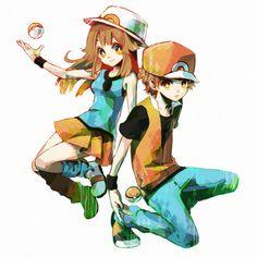 pokemon trainer leaf - Google Search