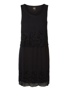 Black sequined party dress from VERO MODA.