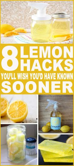 These are the BEST lemon hacks I've ever seen. Glad to have found these amazing lemon tips and tricks. They've already helped me a lot. Pinning for sure.