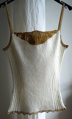 Favorite Fibers: My Very Own Camisole