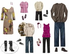 Family Photo What to Wear | What to Wear – Family Session