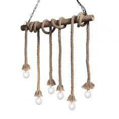 Lustra Canapa SP6 Corda #homedecor #interiordesign #inspiration #decoration #light Ceiling Pendant, Pendant Lighting, Light Pendant, Arrow Necklace, Gold Necklace, Style Classique, Led, Hanging Lights, Montage