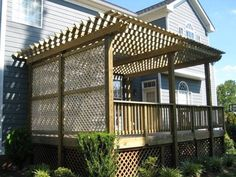 The pergola kits are the easiest and quickest way to build a garden pergola. There are lots of do it yourself pergola kits available to you so that anyone could easily put them together to construct a new structure at their backyard. Diy Pergola, Small Pergola, Pergola Canopy, Pergola Swing, Pergola Attached To House, Metal Pergola, Deck With Pergola, Cheap Pergola, Wooden Pergola