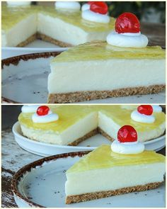 No Bake Desserts, No Bake Cake, Cheesecake, Cooking Recipes, Sweets, Baking Cakes, Dessert Ideas, Food, Cooker Recipes