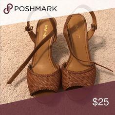 Weekend Sale! 🙌🏻 Nine West Heels Nine West Heels - barely worn. Size 6.5 Nine West Shoes Heels
